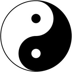 Yin en yang (☯) zijn Chinese begrippen die verwijzen naar twee tegengestelde principes of krachten waarvan alle aspecten van het leven en het universum doordrongen zijn. Het yin-yangsymbool is de Oud-Chinese voorstelling van de kosmische dualiteit, waarbij yin vrouwelijkheid (aarde, koude, het noorden, vochtigheid) symboliseert en yang mannelijkheid (hemel, warmte, het zuiden, droogte). Het zijn echter niet louter tegenstellingen, maar vooral complementaire (elkaar aanvullende) waarden.