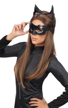Halloween Batman The Dark Knight Rises Catwoman Deluxe Accessory Kit Size: Osfm. Halloween Batman The Dark Knight Rises Catwoman Deluxe Accessory Kit Women's Black Catwoman Cosplay, Cosplay Gatúbela, Catwoman Halloween Costume, Costume Batman, Catwoman Outfit, Halloween Masks, Cosplay Ideas, Adult Halloween, Dark Knight