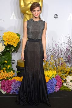 "DO Make Black Tie Edgy If you're not the kind of lady who usually wears silk gowns in pastel shades, someone else's wedding is not the time to start. Take that ""black tie"" instruction on the invitation and make it work for you. We're still gushing over Emma Watson's Academy Awards look that was part muscle tee and part mermaid gown. It's edgy, and yet completely ..."