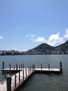 Um canto que eu adoro.  Na Lagoa Rodrigo de Freitas, Rio de Janeiro...