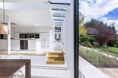 De una casa inglesa de 1930 a una casa moderna