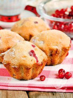 Muffins currants and honey - Niente mette più allegria in cucina dei buonissimi Muffins al ribes e miele appena sfornati. E che buona la prima colazione con questi dolcetti americani!
