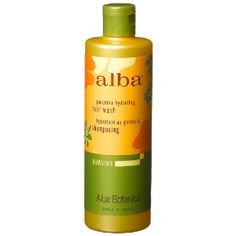 Alba Botanica, natural hawaiian Shampoo, Gardenia, 12-Ounce Bottle (Pack of 2), (alba botanica, gardenia, shampoo)