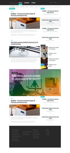 Today's free exciting Free News or Blog PSD Website is perfect for a blog or news website. It boast heaps of room for advertising and articles to keep your readers engaged! With a super minimal style guide you could adapt this very easily to your needs! Free News or Blog PSD Website.  Font – Tungsten (paid)