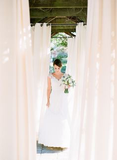 Prepare to swoon for Cara & Chris's elegant #Octoberwedding at #TheCliftonInn. This #southernbeauty wore the #HoneyGown by #ModernTrousseau accented with soft shades of #sageandivory. You'll think you've happened upon a styled shoot; however, Cara's event is filled with intimate, story-filled details, captured by #AdamBarnesFineArtPhotography.   Have a look on #StyleMePretty: http://www.stylemepretty.com/2014/10/13/intimate-southern-wedding-dressed-in-neautrals/