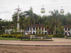 COLOMBIA - Parque del café Beautiful Places To Visit, Dolores Park, Sidewalk, Country, World, Travel, Entertainment, Parks, Colombia