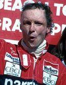 Niki Lauda 1975, 1977, 1984 FIA Formula One World Drivers Champions 1950 - 2013