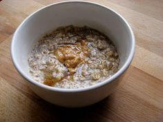 New Nostalgia: No Cook Overnight Oatmeal Chia Breakfast Pudding