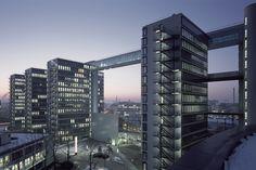 Telecom Towers in München | Kiessler Architekten  © Architekturfotograf Stefan Müller-Naumann, München