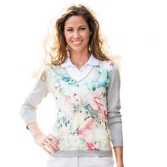 Valiente Print-Pullover-Damen