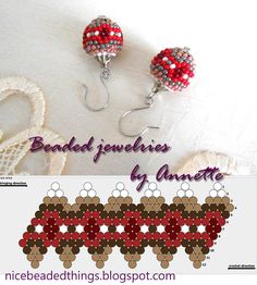 Гарненькі бісерні штучки | Beaded jewelries by Annette: Яблучний джем