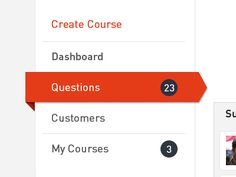 Nice Vertical Menu for Sparkeo.com Dashboard :)    by Ilan Dray