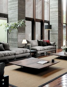 Straight Line Furniture Grouping