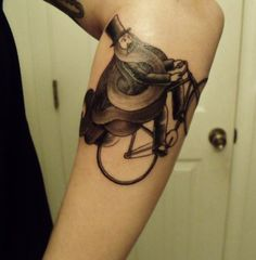 Artwork by Chad Eaton, tattoo by Joseph Bruce at ArtFX Tattoo in Pittsburgh, PA.