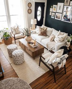 Home Decor Ideas Decoration .Home Decor Ideas Decoration Living Room On A Budget, New Living Room, My New Room, Interior Design Living Room, Home And Living, Modern Living Room Decor, Living Room Setup, Living Area, Modern Room