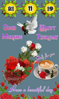 Good Morning Thursday Images, Have A Beautiful Day