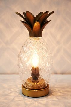 you'd have an awful hard time convincing me to pay $90 for such a small lamp, but I still think this pineapple lamp is awesome. -- Plum & Bow Pineapple Table Lamp - Urban Outfitters