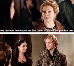 "#Reign 2x02 ""Drawn and Quartered"" - Catherine, Mary and Francis"