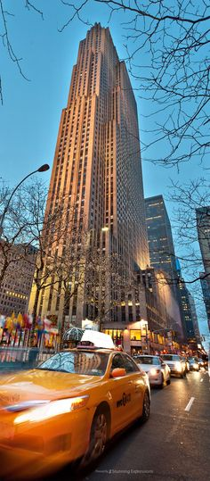 Rockefeller Center - New York Manhattan Times Square, Lower Manhattan, Ellis Island, Yankee Stadium, Madison Square Garden, Empire State Building, Travel Around The World, Around The Worlds, New York Architecture