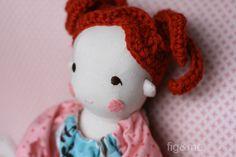 A new cloth doll