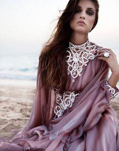 quietbystander:  islamic-fashion-inayah Swarovski Jalabiya