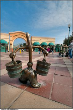 Check out the Walt Disney Studios park at Disney Paris. It may be small but it is worth your time - especially to ride Crush's Coaster.