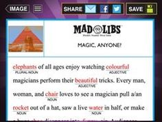 21 Mad Libs stories are given FREE in this excellently designed and produced App with many more purchase possibilities.