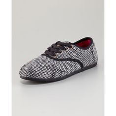 Women's TOMS Harper Cordones Oxford ($74) ❤ liked on Polyvore