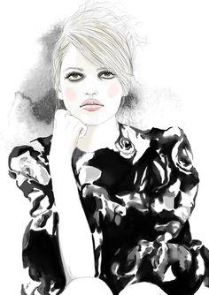 (5) fashion illustration | Tumblr