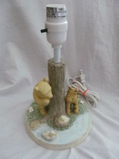Classic pooh afghan baby number 2 pinterest rare disney winnie the pooh classic lamp by michael company tigger ducks aloadofball Images