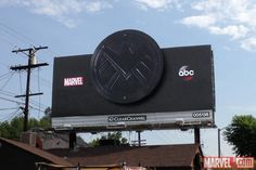 Marvel's Agents of S. billboard in its second phase Marvel Characters, Marvel Heroes, Marvel Movies, Marvel Dc, Marvel Television, Marvels Agents Of Shield, Marvel Entertainment, Marvel Universe, Avengers