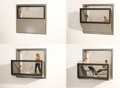transforming windows to balconies | momeld - modern living | modern design