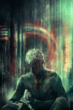 """Blade Runner by Alice X. Zhang """"All those moments will be lost in time, like tears in rain. Time to die."""""""