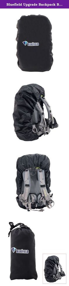 a5c3f464f327 Bluefield Upgrade Backpack Bag Rain Cover for Outdoor Hiking Water Wear  Resistant. Bluefield Upgrade Backpack