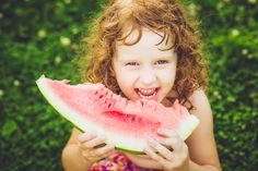 Sliced watermelon makes a great refreshing snack for a warm spring day.