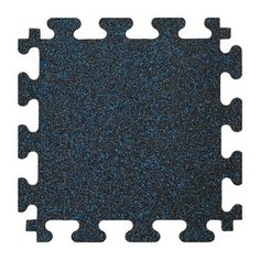 Rubber-Cal, Inc. Revolution Interlocking Rubber Floor | Wayfair