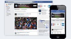 """M., 10 JUN 2014   TECNOLOGIA > REDES - """"Facebook y Twitter se enfocan en el Mundial Brasil 2014"""". .. Han lanzado espacios y hashtags específicos para seguir de cerca la máxima fiesta del fútbol .."""