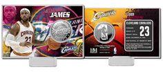 AAA Sports Memorabilia LLC - LeBron James Silver Coin Card - Cleveland Cavaliers, #LEBRONJAMES #clevelandcavaliers #nba #nbacollectibles #sportscollectibles $19.99 (http://www.aaasportsmemorabilia.com/nba/lebron-james-silver-coin-card-cleveland-cavaliers/)