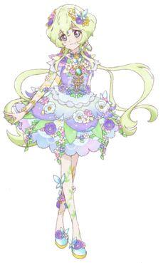 Aikatsu Stars! Aria Futaba's Floral Fantasia Coord