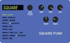 """This Week's Preset: Mobius Filter – """"Square Funk"""" #mobius #strymonpreset #modulation #filter"""