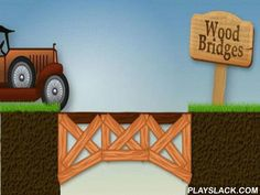 Wood Bridges  Android Game - playslack.com , The game Wood Bridges will be fit for those, who always imagined  to make bridges or at least simply wanted to be a material. The important work - to make a structure, besides to use as atomic wood as accomplishable. For this a definite amount of scores will be given. If you use as atomic wood as accomplishable, the point will be the advanced, and evil versa. Besides, it is essential to make correctly bridges, otherwise, when trains, vehicles will…