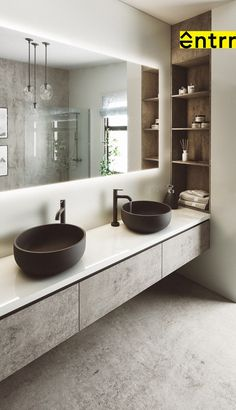 Bathroom Design Luxury, Modern Bathroom Design, Modern Luxury Bathroom, Washroom Design, Luxury Kitchen Design, Modern House Design, Dream Home Design, Home Interior Design, Small Bathroom