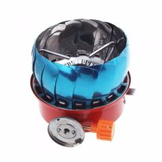 Backpacking Portable Outdoor Propane Gas Stove with Electronic Ignition