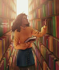 Image shared by Find images and videos about books, harry potter and hermione granger on We Heart It - the app to get lost in what you love. Black Girl Art, Black Women Art, Black Girl Magic, Art Girl, Black Art, Black Girl Cartoon, Fanart Harry Potter, Bd Art, Magic Art
