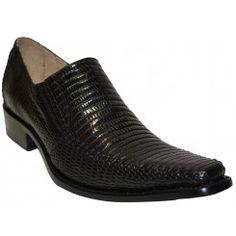 Zapato exotico de armadillo