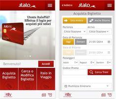 Italo Treno app store