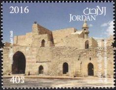 Stamp: Akaba (Jordan) (Ancient castles in Jordan) Mi:JO 2338