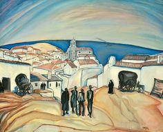 Utcai jelenet: 36. aukció (2010. tél) 142.tétel Artists, Painting, Inspiration, Biblical Inspiration, Artist, Painting Art, Paintings, Painted Canvas, Drawings