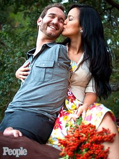 How a Man Born Without Arms and Legs Went on to Inspire Millions http://www.people.com/article/Nick-Vujicic-love-without-limits-book-interview-video
