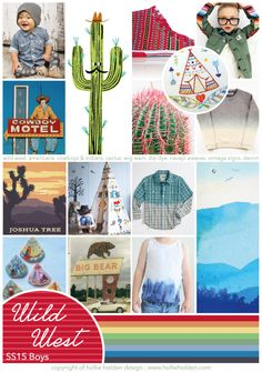 The Wild Wild West is back yeehaaa! Great Trend for boys this Season, not to be missed! - Write On Trend